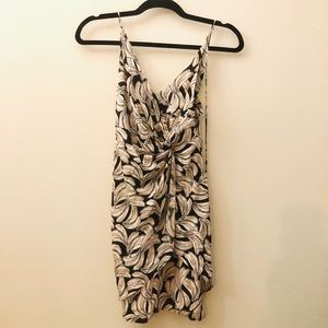 Urban Outfitters Banana Print Casual Dress